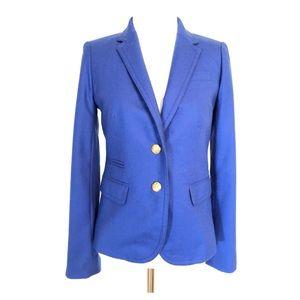 J Crew Schoolboy Blazer Brad's Buttons Blue